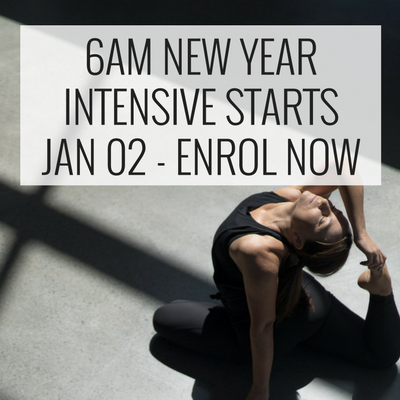 wollongong yoga workshop new year intensive