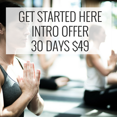 younga yoga studio 30 days $49