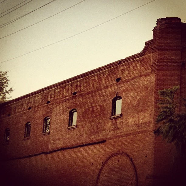 Same building: different side *and* different ghost sign. The previous photo shows the back of the building, which most people probably don't see. If you missed it, check it out – it's pretty awesome.   (Taken with  instagram  in Corsicana, Texas)