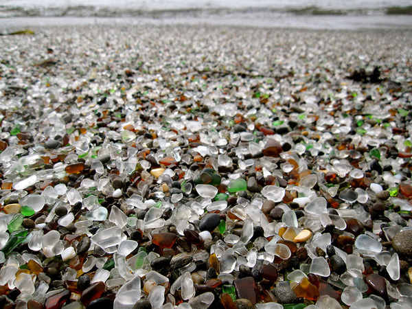 Fort Bragg, California (via  Glass Beach | Colossal )