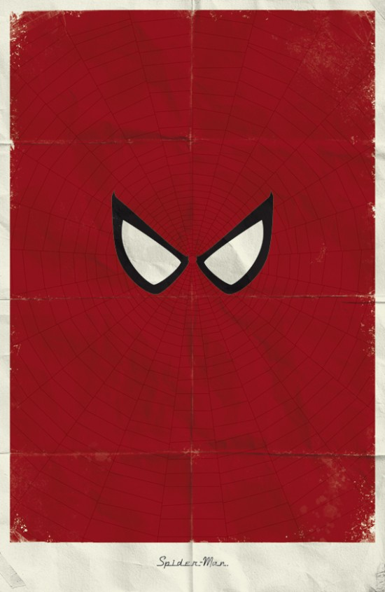 Via murketing: (via bookofjoe: Marvel Minimalist Posters)
