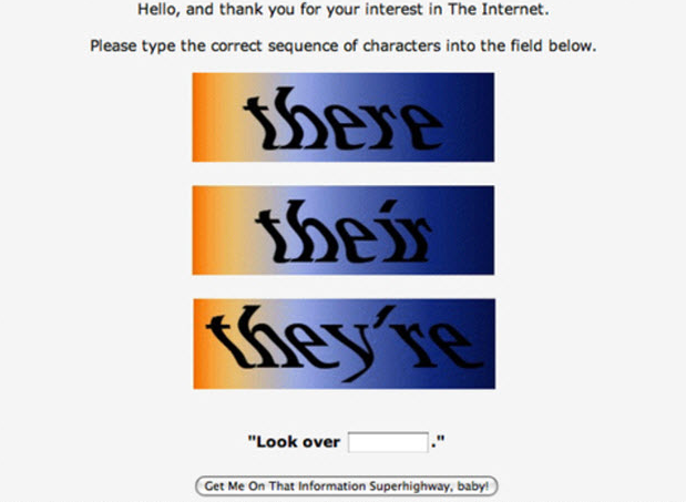 Grammar-based CAPTCHAs. Yes, please.