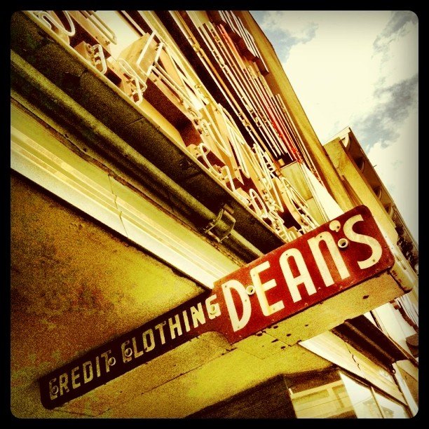 Dean's Credit Clothing.  (Taken with  Instagram  at Dean's)