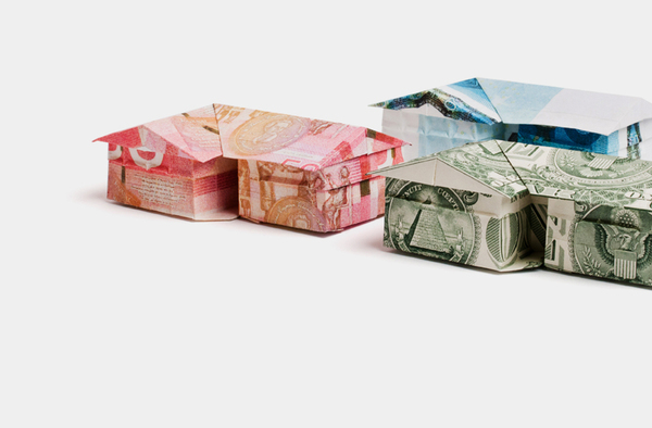 """As part of a  rebranding effort  for Payment System Group, Seattle-based  YIU Studio  commissioned a number of currency origami works from  Won Park .""   (via  Colossal )    Continuing my (inexplicable) appreciation for currency that's been altered in some way; see earlier currency-related Everything Matters posts  here ."
