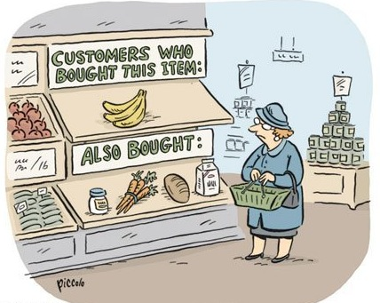 Via lookhigh :     If Amazon were a supermarket    nickmcglynn :      Amazon IRL