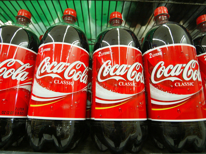 Vialookhigh: It is Coke The Coca-Cola Recipe Is Revealed By 'This American Life': NPR Want to try it? Here's theingredient list fromTAL: Fluid extract of coca Citric acid Caffeine Sugar Water Lime juice Vanilla Caramel Alcohol Orange oil Lemon oil Nutmeg oil Coriander oil Neroli oil Cinnamon oil