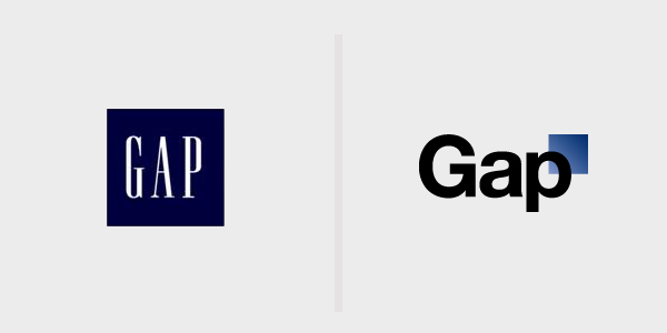 "Via  dachesterfrench :     The new Gap logo. Strange move. I think this sort of ""modernizing"" rebranding is almost always a mistake unless a company has just sponsored a genocide or something. -D.A.    davemorin :     A sad day for iconic brand design.    Mind the GAP! 