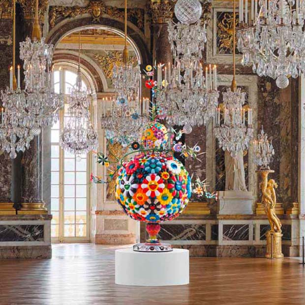 Via  hydeordie :      No more contemporary art in Versailles' royal rooms after Murakami …