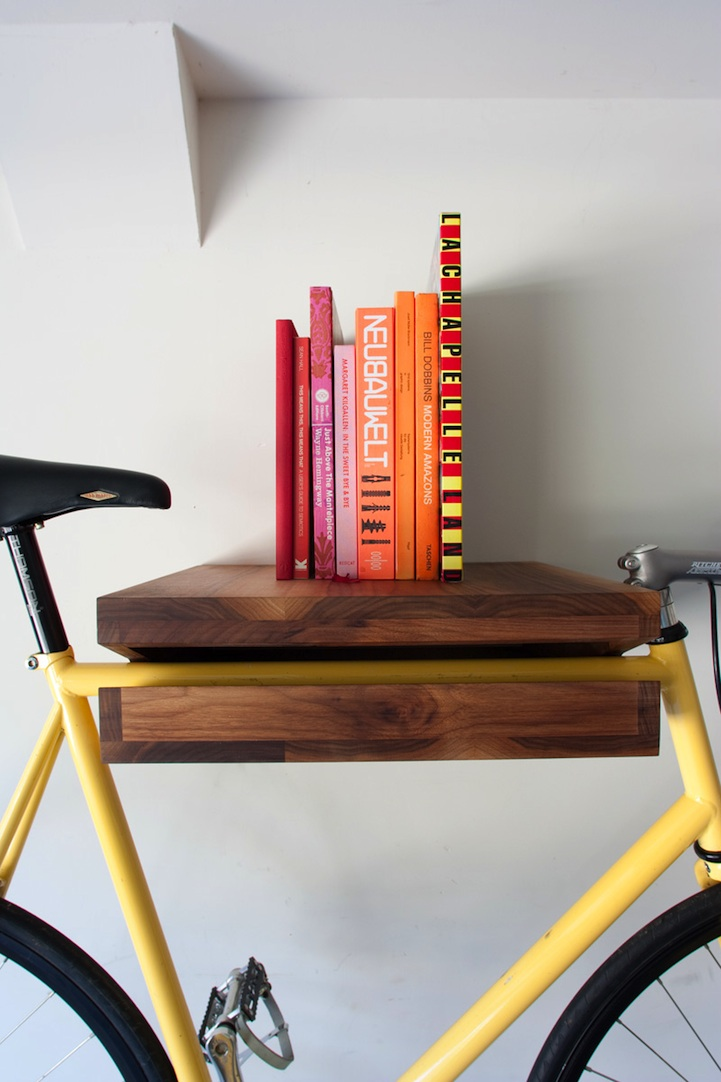 Via  texturism :     clever, practical & good looking. | via  thatkindofwoman   micasaessucasa      Bookshelf-of-the-week selection.