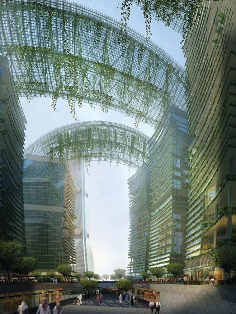 via   urbangreens :         Park Gate, Dubai | inhabitat.com      via  mikerickson