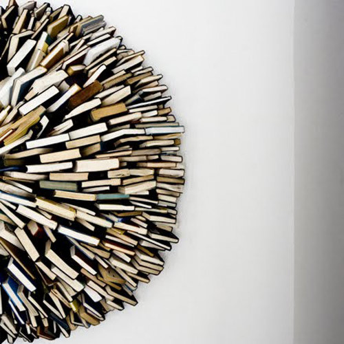 Via  problemsolver :     Book Sculpture by  Federico Uribe    More about  Federico      (via  ilovereadingandwriting )