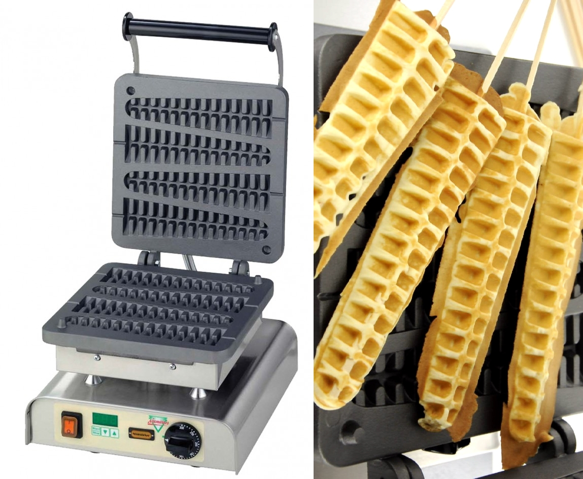 Via  thedailywhat :      Life-Altering Waffle Maker of the Day:  It's a Waffsicle maker. Nuff said.   [ thetrendygirl .]