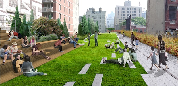 Via bmdesign: A first look at the planned expansion for New York City's High Line park!