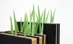 I love this –  GreenMarker  page markers  (self-adhesive like Post-it Notes) shaped like blades of grass! If you find out how we can order them in North America (they're made in Japan by yuruliku design), please tell me.    http://www.yuruliku.com/greenmarker/about/about.html
