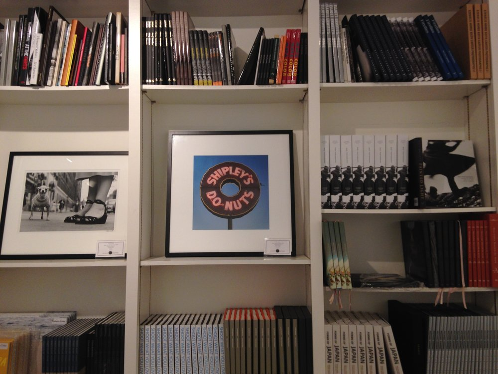 Molly Block's print next to Elliott Erwitt's New York City