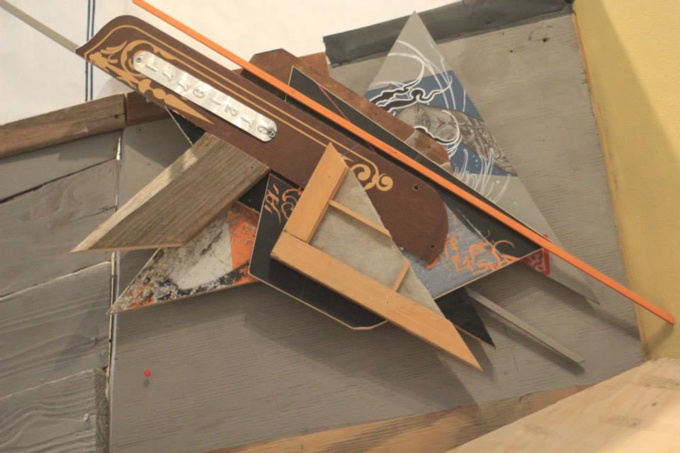 Hyperbolic Geometry Installation, 2013