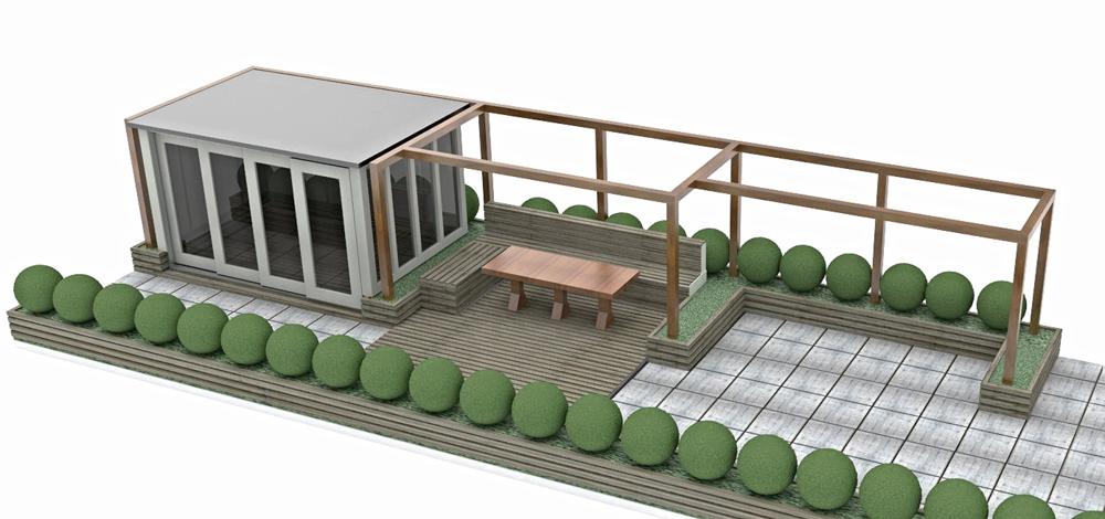CAD Image Rooftop Room