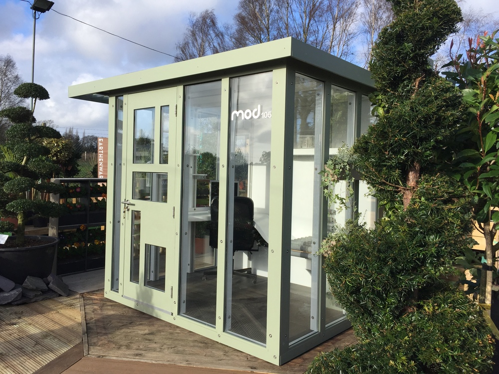 The room is now in situ at Flower Pot Nursery which is on The Frant Road, Tunbridge Wells, TM3 9HB. Drop by any time to visit and see the design features for yourself or get on contact to meet one of the team there for a guided tour.