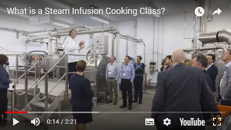 What is a Steam Infusion Cooking Class?