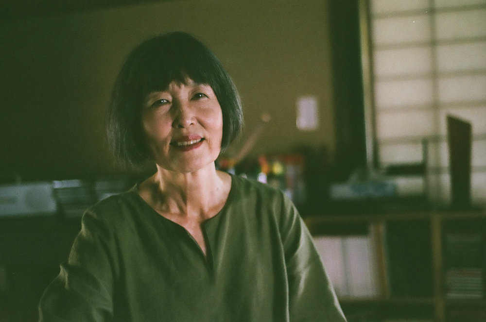 Thank you to the fantastic Myong Hee Kim for a glimpse into 観自庵, her beautiful art studio in Takahama, Fukui.