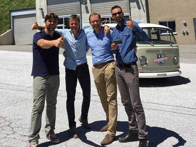 Fernsehrbericht über Pellet-Heizzentrale im Wallis