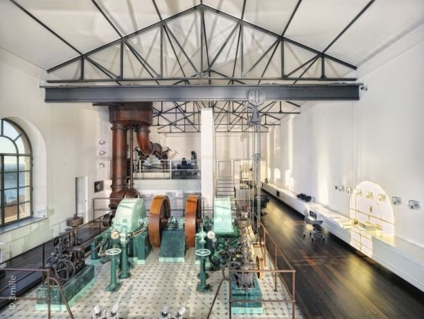 A converted water cleaning station on the French Riviera