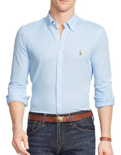 Classic Polo Oxford Shirt (photo: Ralph Lauren)