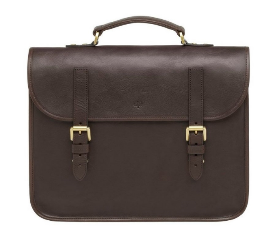 Elkington Natural Leather Briefcase (photo: Mulberry)