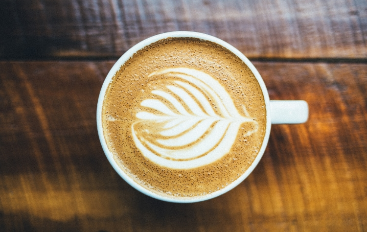 A Latte elevated with Latte art (Photo: Frank Lanigan)