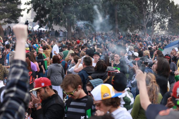 420 Rally in Denver, Colorado (Photo: Cannabis Destiny)