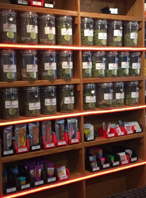 Assortment of Cannabis at Strawberry Fields (Photo: Sara Cantu)