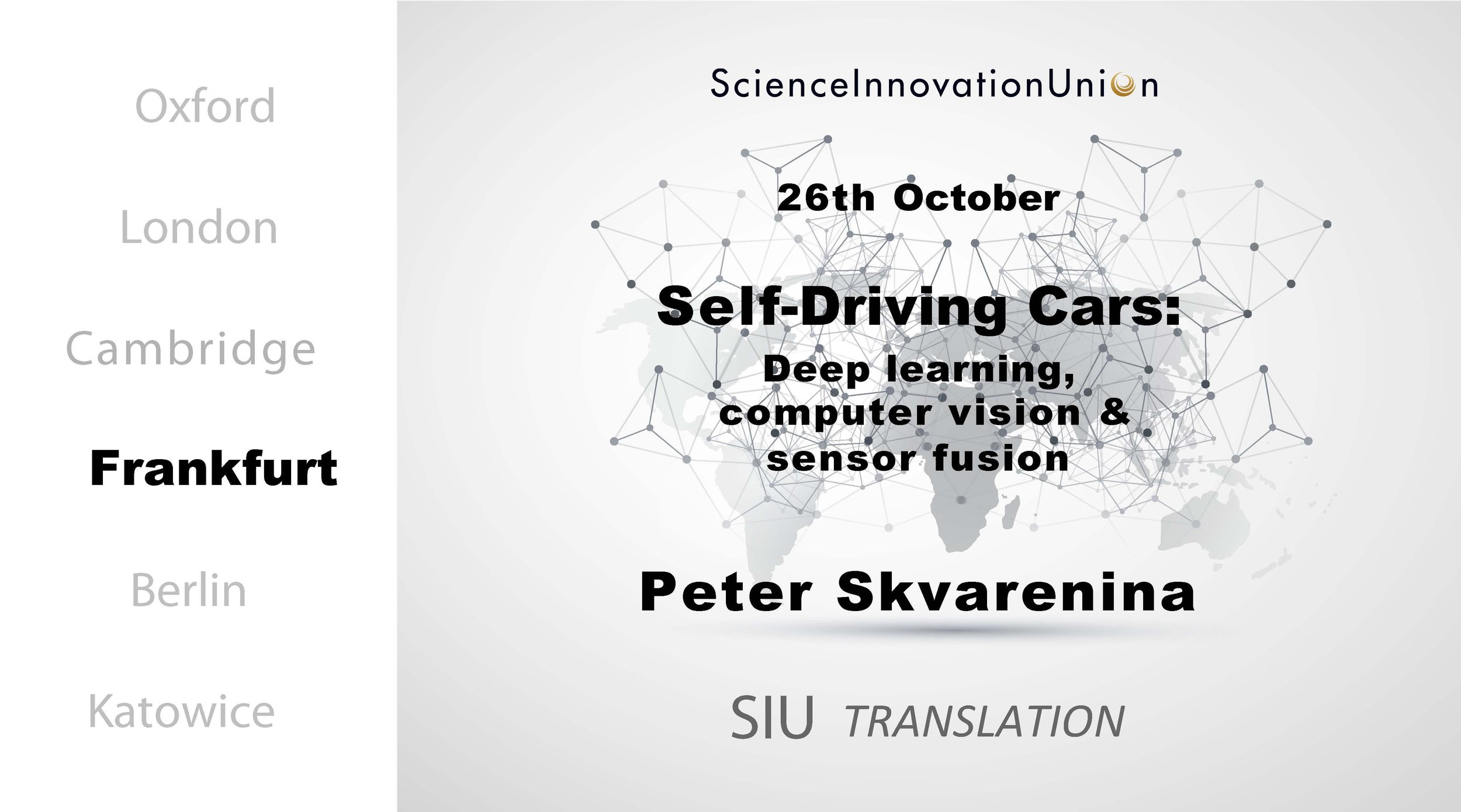 Self-Driving Cars: Deep Learning, Computer Vision & Sensor Fusion