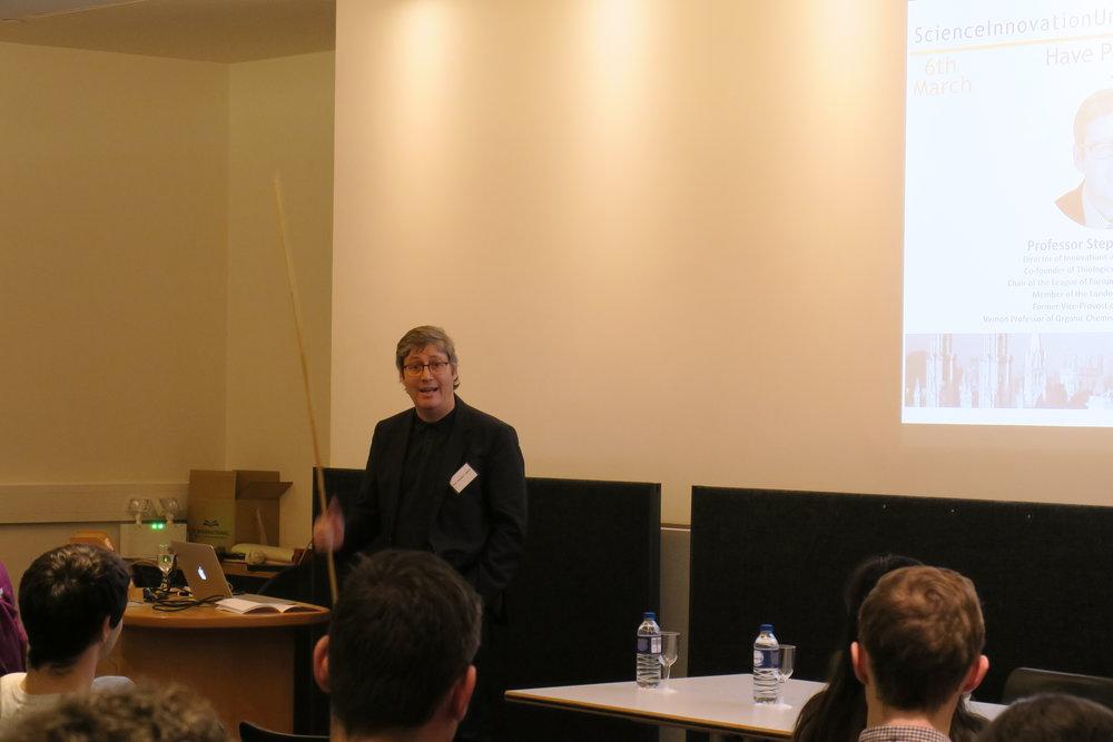 Prof Steven Caddick