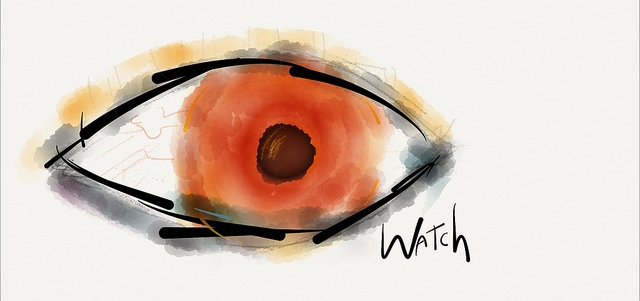 Watching Eye by James Poulter, using Paper by FiftyThree