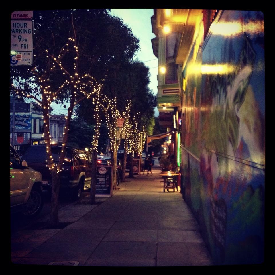 Haight Ashbury by night