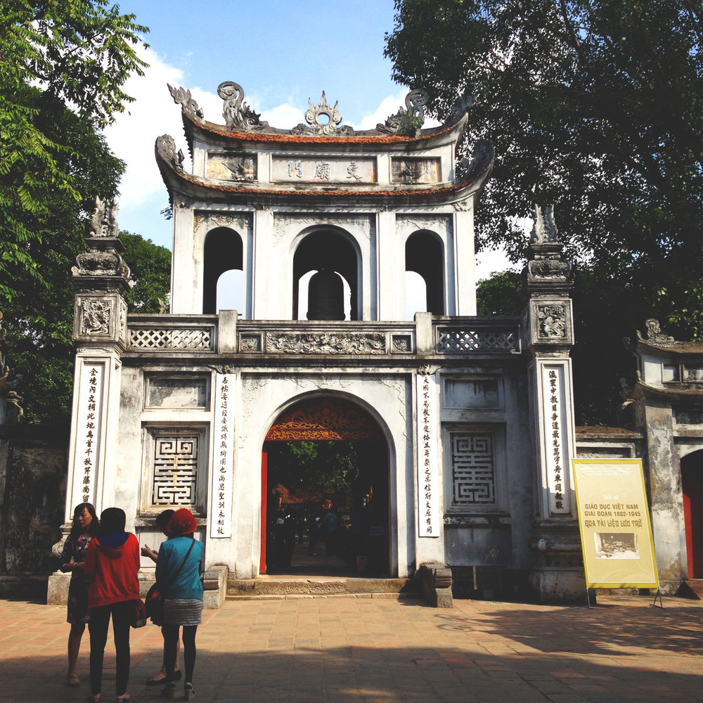 Hanoi - Temple de la littérature - Wonderluhsters