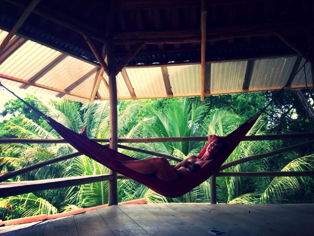 Olivia au Costa Rica