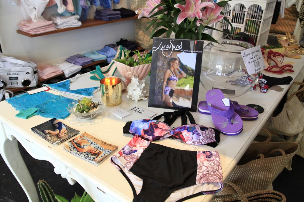 LunarSand swimwear pop up store