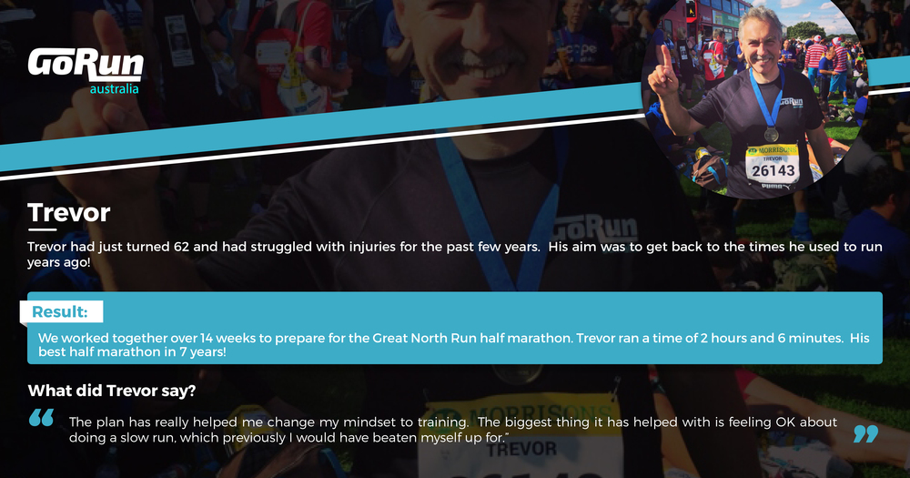 READ TREVOR'S FULL STORY OF HIS BEST HALF MARATHON IN 7 YEARS!