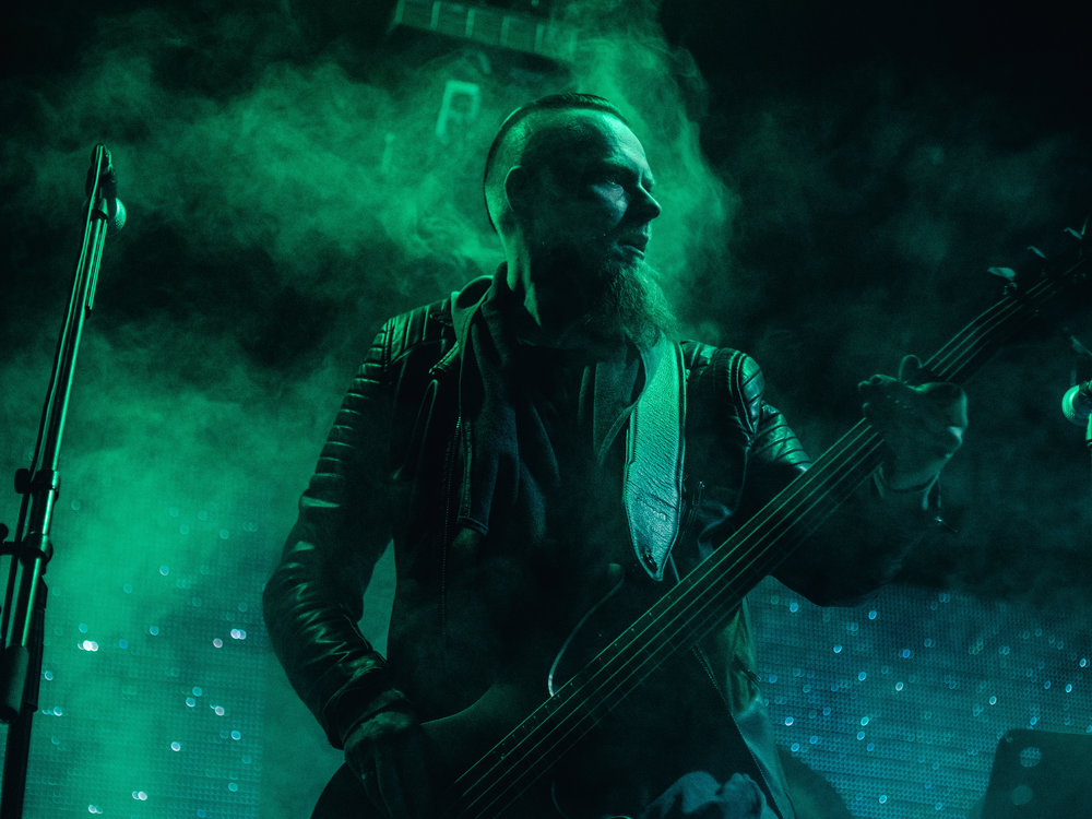 Андрис Гейба — бас-гитара
