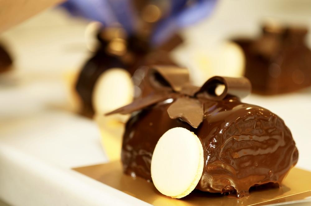デミサイズのチョコレートパウンドケーキです。