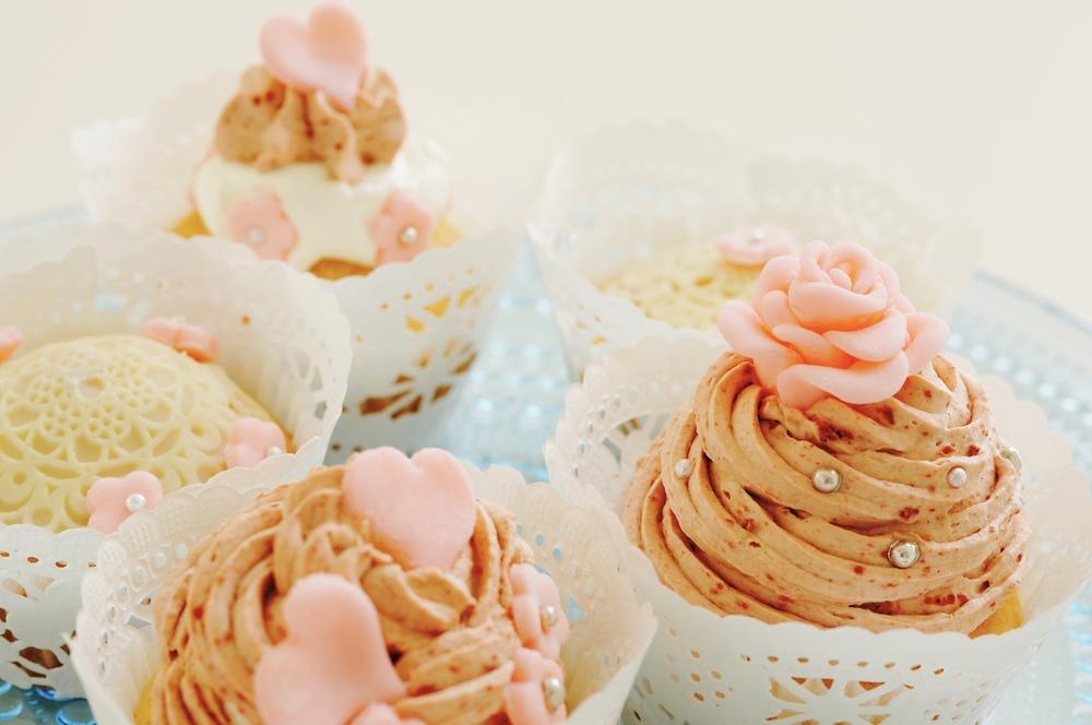 写真をクリックするとお菓子教室予約サイト『クスパ』の『デコレーションカップケーキのレッスン』が開きます。