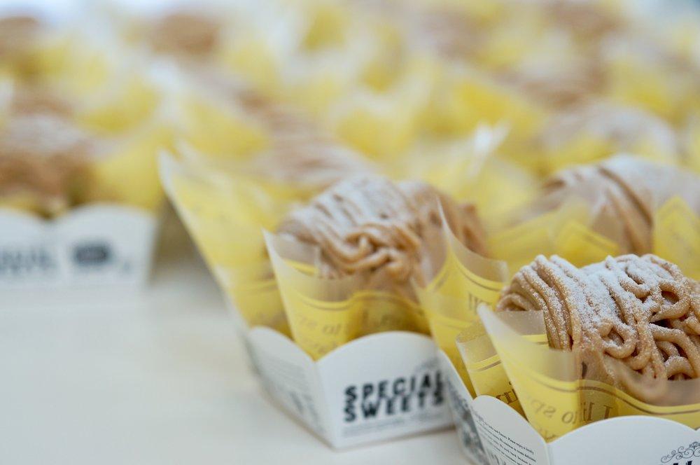 パティスリー301のお菓子教室でも扱っているモンブラン。こちらは生徒さんの作品です。