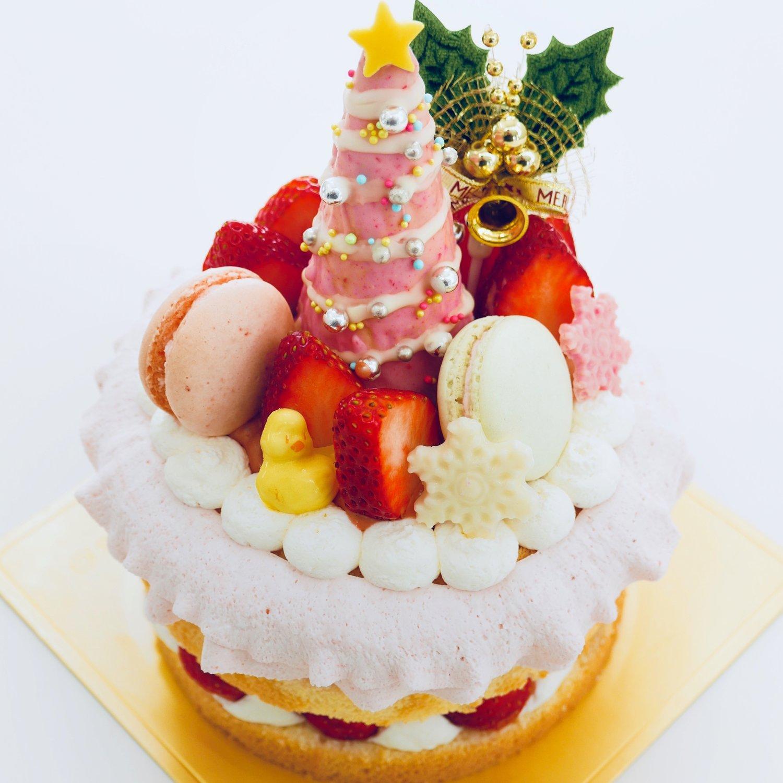 ネイキッドクリスマスケーキ