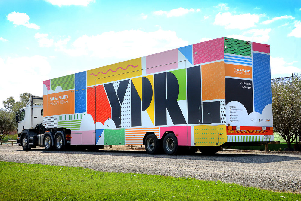 YARRA PLENTY REGIONAL LIBRARY BUS
