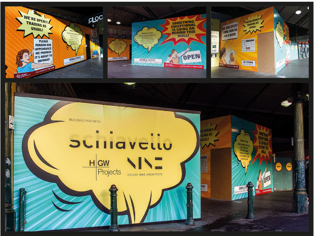 Click on the image for more examples of creative Schiavello hoardings!