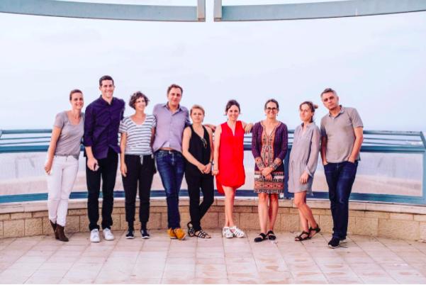 Photo credit: Dan Haimovich (photo from left to right) Tali Cherzli, Matthew Israel, Chen Tamir, Jochen Volz, Claire Breukel, Juana Berrío, Natasha Egan, Sarah Demeuse, Anthony Huberman