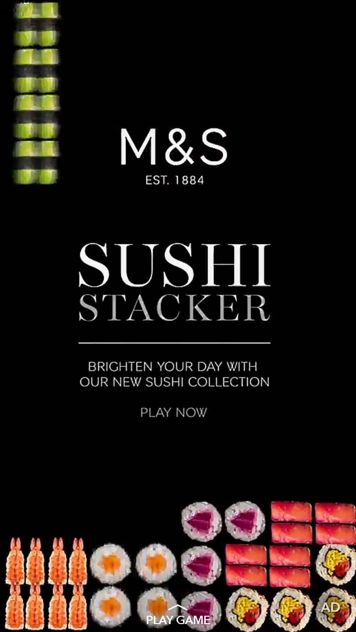 Marks and Spencer's Sushi Stacker