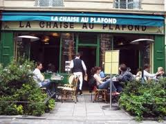 La Chaise au Plafond, Marais Paris