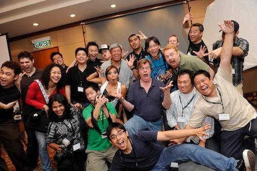 joe mcnally workshop group photo